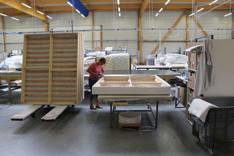 Fabrication sommier usine Le Mans