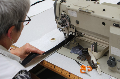Couture matelas usine Maliterie