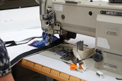 Machine à coudre usine Maliterie