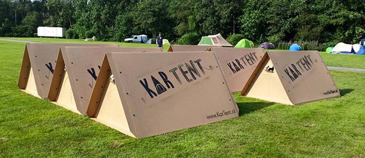 Tentes spéciales pour dormir en festival