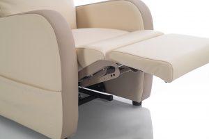 Matériaux et composition d'un fauteuil relax
