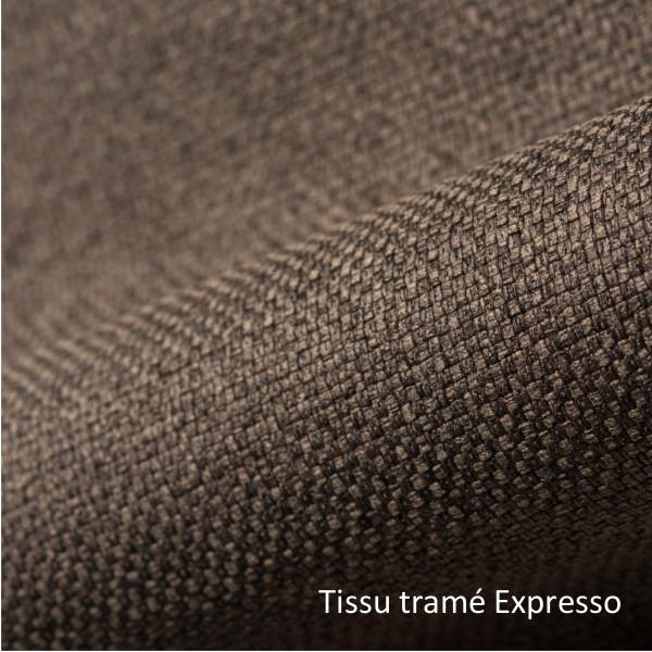tissu tramé expresso