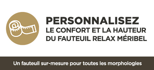 Personnalisation fauteuil relax