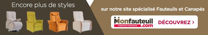plus de styles vers le site spécialisé en fauteuils et canapé Monfauteuil.com