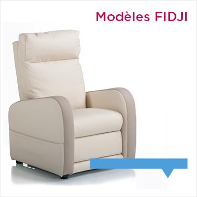 fauteuil relax contemporain Fidji