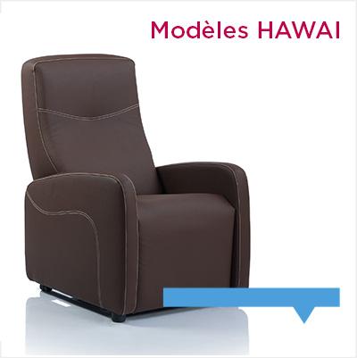 fauteuil relax contemporain Hawai