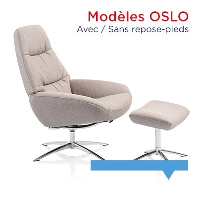 Fauteuil relax design Oslo