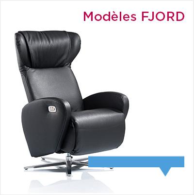 fauteuil relax design et haut de gamme Fjord