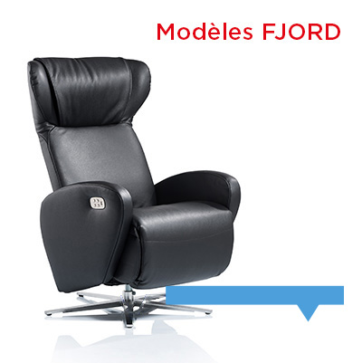 Fauteuil relax design Fjord