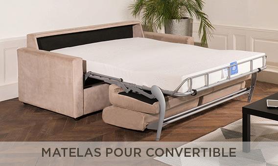 Matelas pour canapés lit convertibles