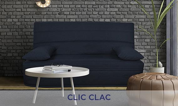 Banquette lit clic clac
