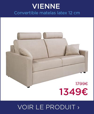 Convertible matelas latex 12 cm