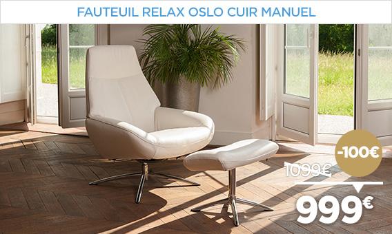-100€ sur notre gamme de Fauteuil relax