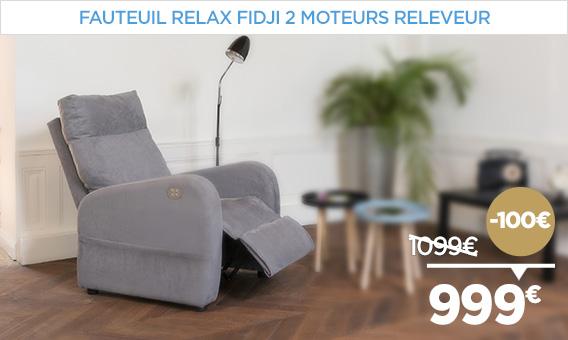 -100€ sur le fauteuil relax releveur FIDJI