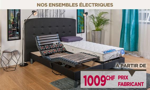 Lit électrique à prix fabricant vendus en direct de l'usine