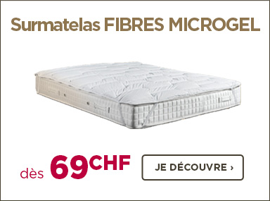 Surmatelas microgel pour plus de confort sur votre lit électrique