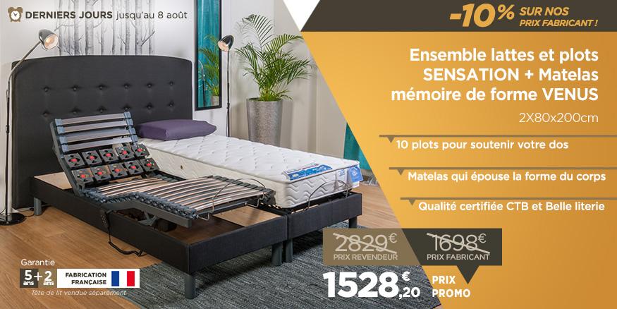 soldes lit lectrique sommiers lectriques prix promotions mieux que les sodes lit. Black Bedroom Furniture Sets. Home Design Ideas