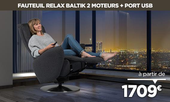 Nouveau fauteuil design BALTIK à découvrir