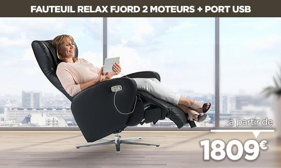 Nouveau fauteuil design FJORD à découvrir