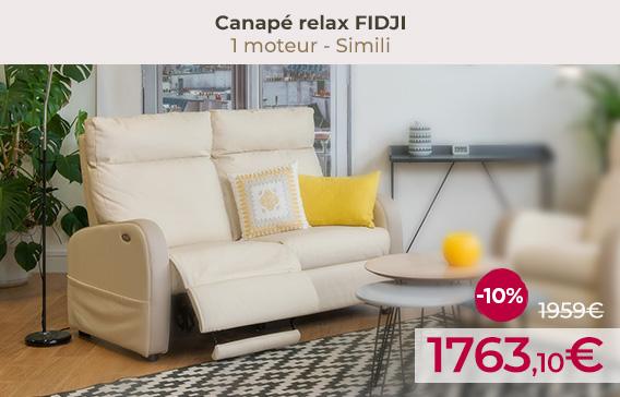 Soldes Canapé relaxation FIDJI encore moins chers !