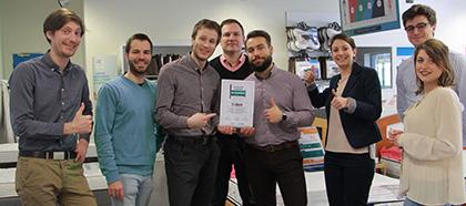Equipe Web et marketing de maliterie.com récompensé par le meilleur site ecommerce 2018